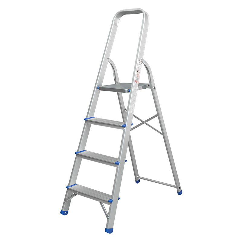 LJ303D-308D Aluminium Step Ladder 2 3 4 5 6 7 8 Step Stepladder DIY Tools Lightweight