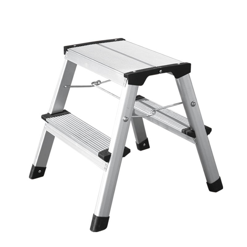 LB402C-405C Folding Metal Step Stool with EN14183
