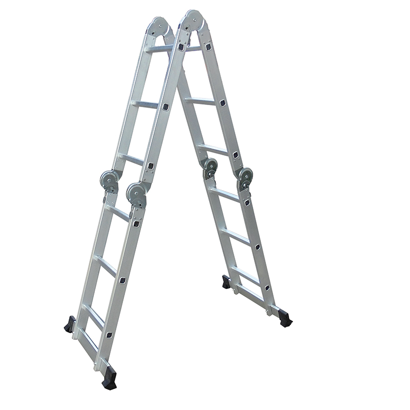 LC3412B  3380mm Multi-Purpose  4x3 Aluminium Folding  Ladder
